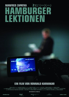 Original poster,Hamburger Lektionen (Hamburg Lectures), a film by Romuald Karmakar, Germany 2006.