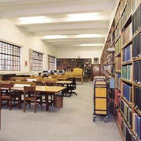 The old Special Collections Reading Room.