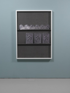 Wael Shawky, Dictums, installation view, Lisson Gallery, London, 2013.