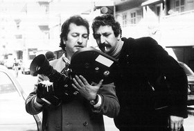 Jean Chamoun and Samir Nimer, 1977. Courtesy of WAFA Agency.