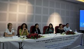 Panel discussion at the Second Meeting of the Maghreb des Arts.