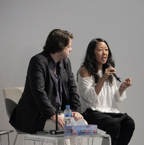 Rodrigo Moura and Eungie Joo, March Meeting 2014, Sharjah Art Foundation Art Spaces.