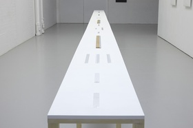 Cevdet Erek, Ruler and Rhythm Studies (2007–2011) Spike Island.