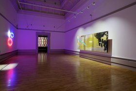 Shezad Dawood, Piercing Brightness, 2011, installation view, Harris Museum & Art Gallery, Preston, September 2011. Courtesy of Paradise Row, London. Photograph by Simon Critchley.