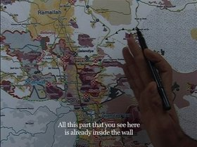Bouchra Khalili, still from Mapping Journey #3, 2009, video, 3'30. Courtesy of the artist and Galerieofmarseille, Marseille.