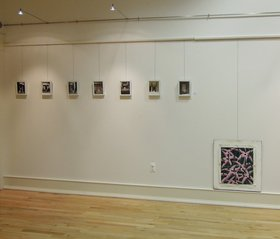 Nadia Ayari, Without Walls, 2012, installation view at Rutgers University. Courtesy of the artist.