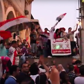 Six Moments from a Revolution: A Mosireen Video Timeline