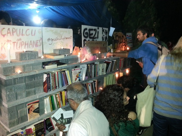 Free Library at Gezi.