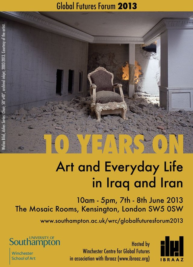 Global Futures Forum, '10 Years On: Art and Everyday Life in Iraq and Iran'
