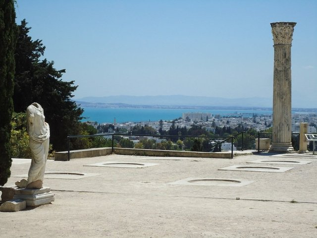 View from Carthage National Museum. © ATP/Ibraaz Publishing, 2012.