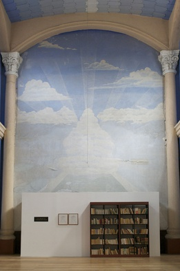 <p>Meriç Algun Ringborg, <em><em><em>The Library of Unborrowed Books</em>, </em></em>2012-. Site-specific installation with books, shelves, brass sign, two contracts. Section V: The Gennadius Library, ASCS, Athens<span>, 2014 at The Gennadius Library, ASCS, Athens. </span></p><p><span>Photo credits: Neon Foundation, Athens. Copyright the artist.</span></p>