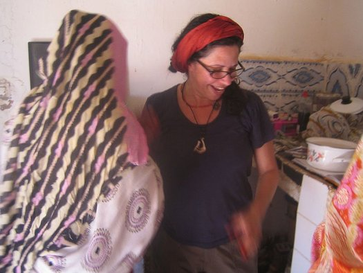<p>Robin Kahn's 2009 project at ARTifariti</p><p>Selaka & Kahn cooking Couscous</p><p>Camp 27, Tindouf Camps</p><p>Image courtesy of the artist</p>