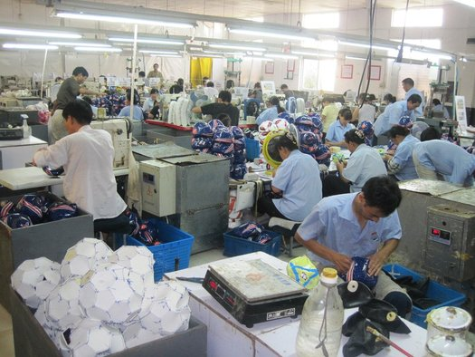 <p>Jeremy Hutchison</p><p><em>err (workers at Zhongtian Industrial Co.Limited, Zhejiang, China)</em>, 2012</p><p>Image courtesy Eric Ping, Zhongtian Industrial Co</p>&nbsp;