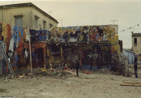 <p>Denis Martinez</p><p><em>Derni&#232;res paroles d'un mur</em>, Blida, 1986</p><p>Courtesy of Mahmoudi Mohammed</p>&nbsp;