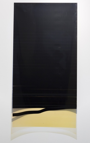 Caline Aoun, Untitled, 2013, unique inkjet print on Permajet transfer film, 610 x 1210 mm.