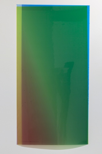 Caline Aoun, Untitled, 2013, Unique inkjet print on Permajet transfer film, 610 x 1085 mm.
