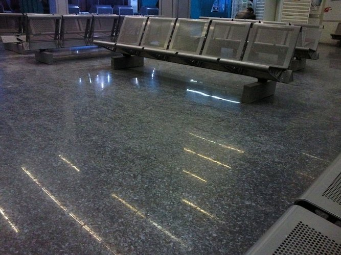 Tripoli airport, 2011. Photograph courtesy and © Hadia Gana.