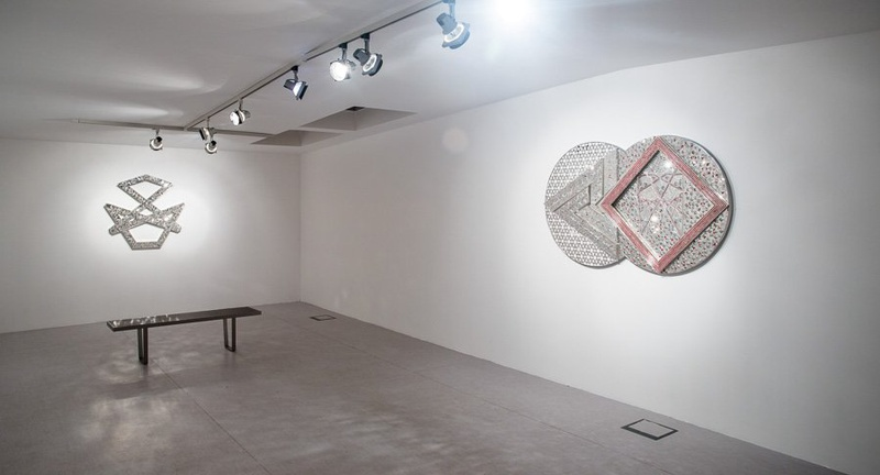 Monir Shahroudy Farmanfarmaian, 2004-2013, installation view. Courtesy the artist and The Third Line.