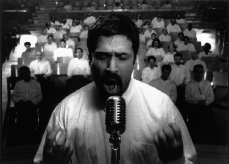 Shirin Neshat, Turbulent, 2000. Video still.