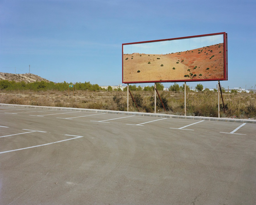 Corrina Silva, Resort town of Al Hoceima placed in former industrial zone, Cartagena, from the Imported Landscapes series, 2010. 179 x 143 cm, c-type print.