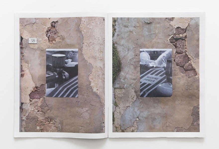 Steve Bishop, Pages from the publication Focus II, 2013.
