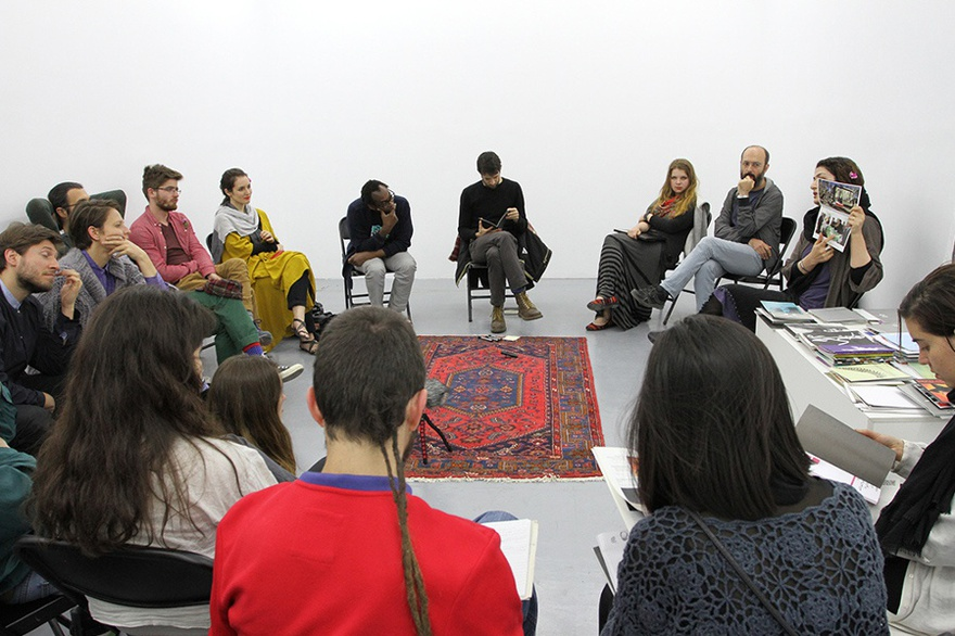 Group discussion project at Sazmanab, Tehran.