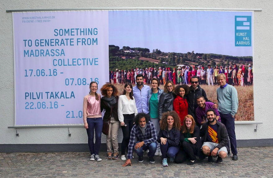 Group photo / Something to Generate From – Kunsthal Aarhus.