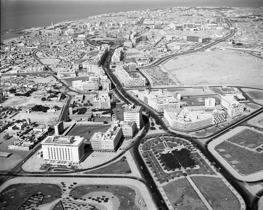 Fahad al-Salem Street in the 1960s.