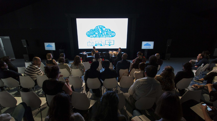 'The Future Was Cloud' at Art Dubai's Global Art Forum 10,2016. The Studio Dubai.