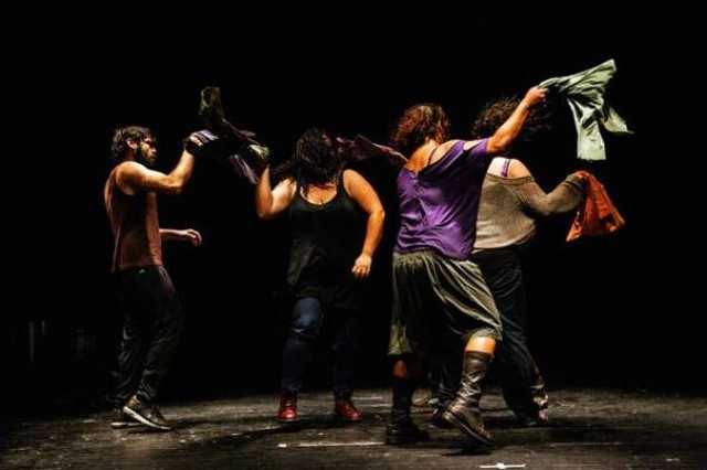 Zoukak Theatre Company, The Battle Scene, 2015. The Flagellation: A Battle.
