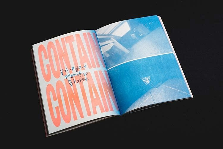 Maryam Monalisa Gharavi, Contain Contain, from the journal Dolce stil Criollo, issue 2, 2015.