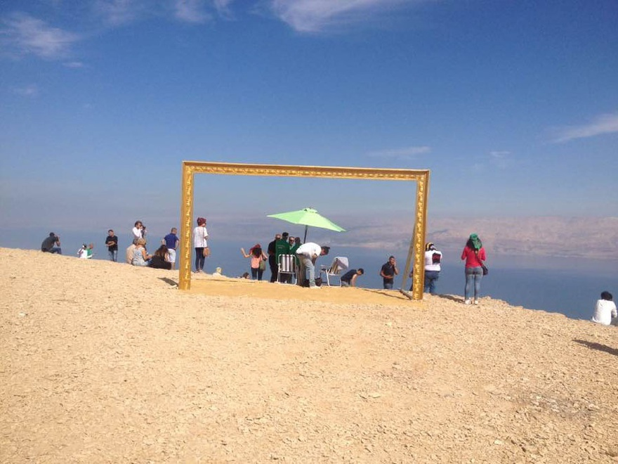 Sarab (2016). Guided tour around the Dead Sea. A Series of Un-curated Events, by Riwaq.
