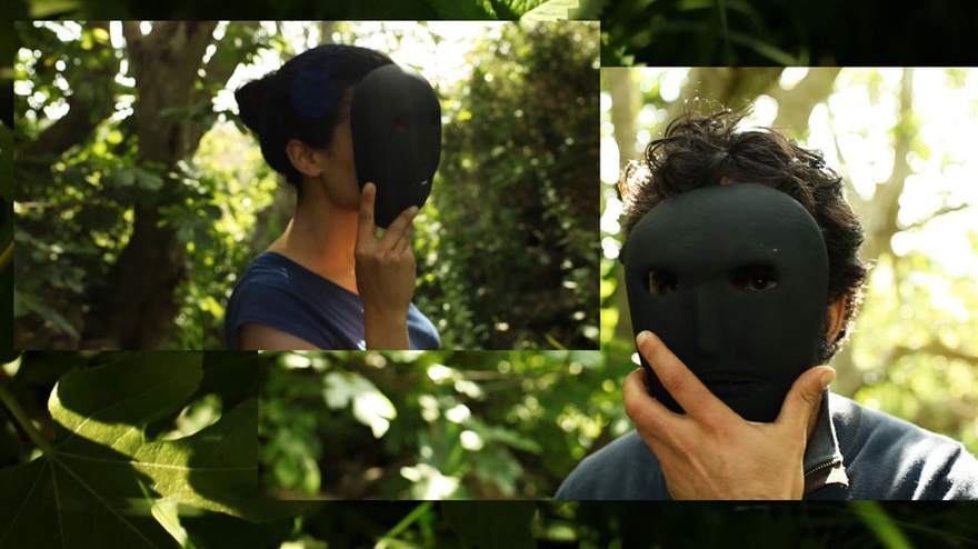Basel Abbas and Ruanne Abou-Rahme, And Yet My Mask Is Powerful (still), 2016. Single-channel HD video, 2-channel sound.