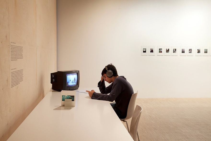 Hassan Khan, 17 and in AUC, 2003. Installation view at SALT Istanbul.