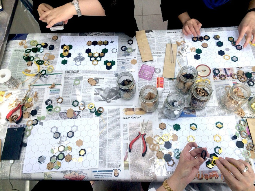 Jewellery prototyping workshop by Onqoud.