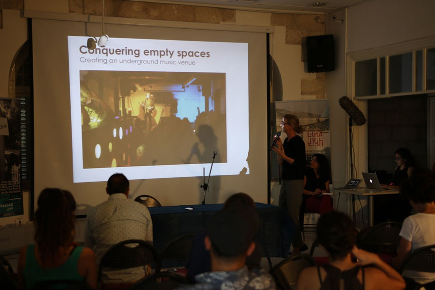 Anni Ehlers, INSP, 'Space, Knowledge, Art' symposium, Jerusalem, 2016.