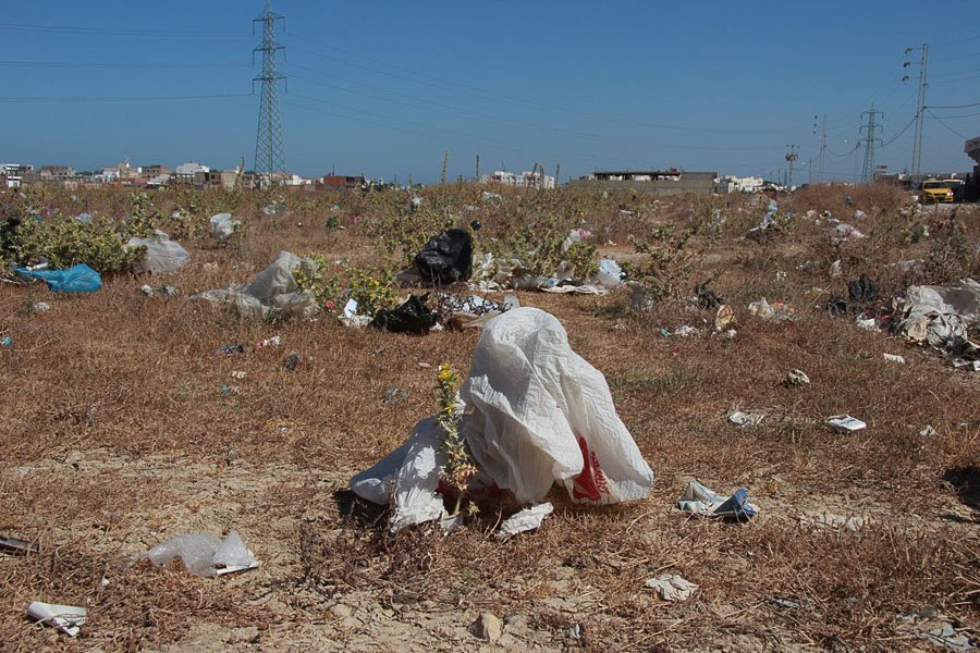 Fallow Ground, 2012, Bahr Lazreg, Tunis. Photo © Stephan Vandenbruck.